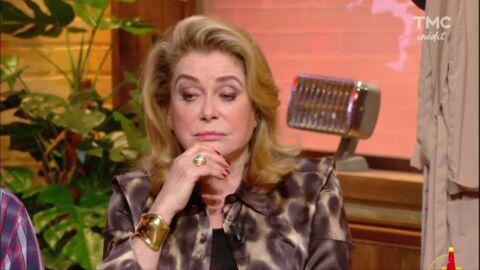 «Trop de botox», «Figée!»: Catherine Deneuve se fait détruire sur la Toile pendant Burger Quiz