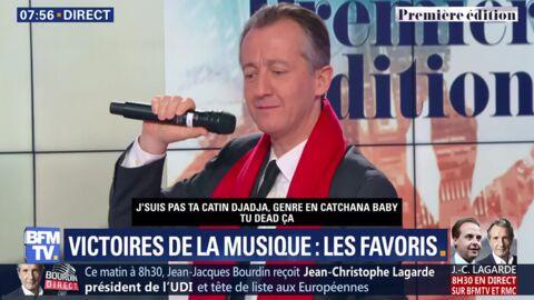 VIDEO Christophe Barbier reprend Djadja d'Aya Nakamura (et c'est très gênant)