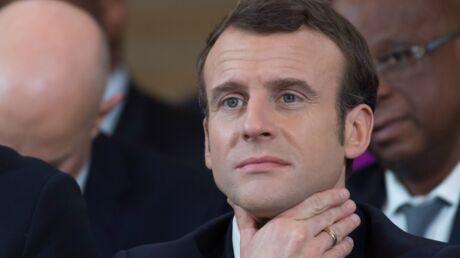 Emmanuel Macron: un jeune homme le chambre avec un tacle très drôle