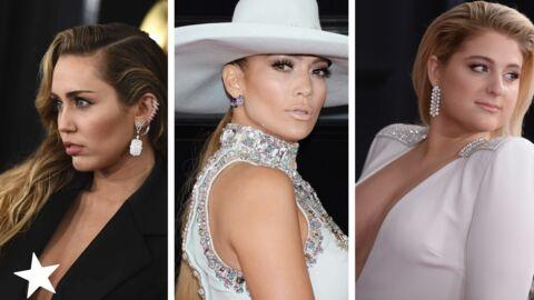 Grammy Awards 2019: Miley Cyrus et Meghan Trainor TRÈS décolletées, Ricky Martin adorable avec son fils Mateo