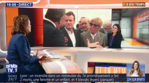 VIDEO Brigitte Macron: le geste trop mignon de la première dame quand Emmanuel Macron est en déplacement