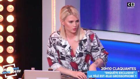 VIDEO TPMP: Kelly Vedovelli révèle être victime d'insultes grossophobes sur les réseaux sociaux
