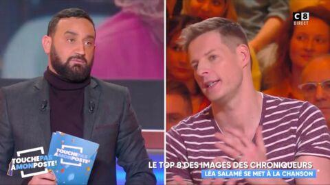 VIDEO Cyril Hanouna et Matthieu Delormeau se payent Léa Salamé pour son apparition dans un clip