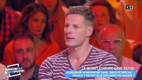 VIDEO Matthieu Delormeau fond en larmes en évoquant les actes homophobes qu'il subit