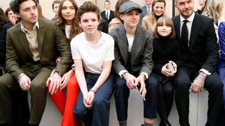 PHOTOS Les Beckham au complet pour le défilé de Victoria, la nouvelle coupe d'Harper fait sensation
