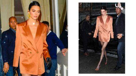 Faites comme Kendall Jenner, adoptez la robe blazer!
