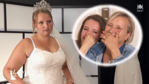 24e99f21ea5 VIDEO La robe de ma vie   une candidate violemment critiquée par sa  famille
