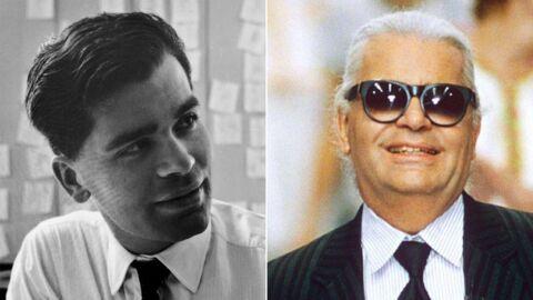 PHOTOS Mort de Karl Lagerfeld – cheveux courts et noirs, barbe, kilos en trop: l'évolution physique du créateur