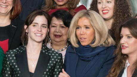 PHOTOS Pourquoi Brigitte Macron a remplacé le président pour sa rencontre avec Emma Watson