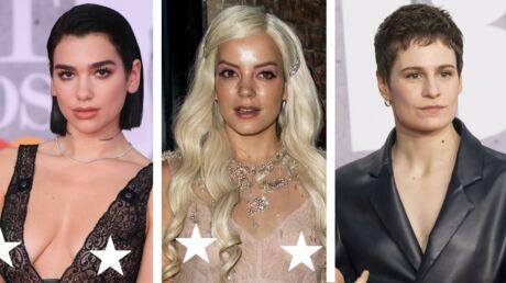 PHOTOS Brit Awards 2019: Dua Lipa dévoile ses tétons, Christine and the queens en cuir, Lily Allen montre ses seins