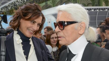 Mort de Karl Lagerfeld: ce geste inquiétant qui a fait présager le pire à Inès de la Fressange