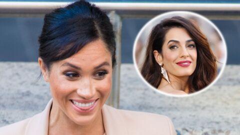 Baby shower de Meghan Markle: son retour à Londres grassement payé par… Amal Clooney