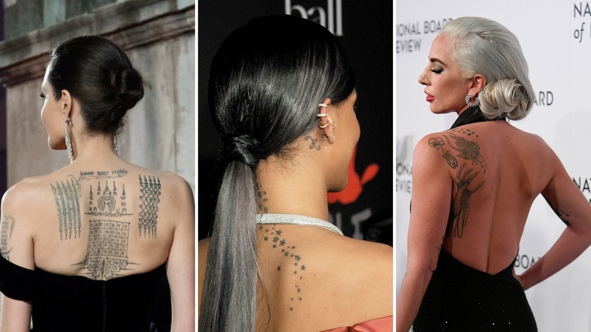 Les Plus Beaux Tatouages Sur Le Dos Voici