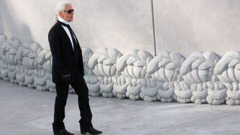 Karl Lagerfeld: la triste raison pour laquelle il ne voulait plus apparaître à ses défilés