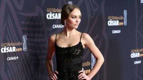 PHOTOS Lily-Rose Depp: sa robe noire très transparente des César sous toutes les coutures