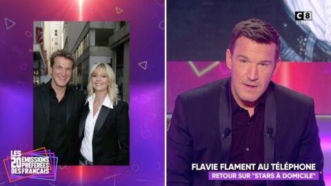 VIDEO Benjamin Castaldi retrouve Flavie Flament au téléphone et lui fait une très belle déclaration
