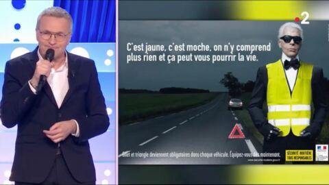 Laurent Ruquier: son tacle sévère aux Gilets jaunes pendant son hommage à Karl Lagerfeld