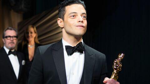 PHOTOS Rami Malek (Oscars 2019) chute brutalement après avoir reçu le prix du meilleur acteur pour Bohemian Rhapsody