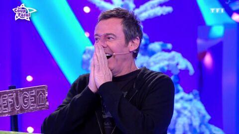 Jean-Luc Reichmann gêné par une blague d'un candidat des 12 Coups de midi sur Emmanuel Macron