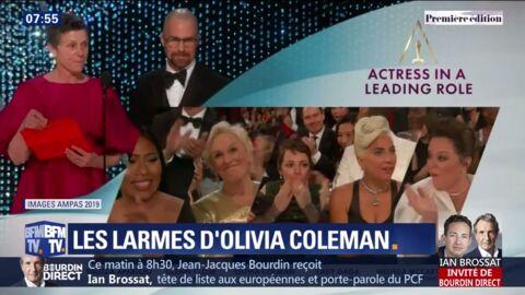 VIDEO Oscars 2019: la réaction dépitée de Glenn Close en découvrant qu'elle ne gagne pas le prix de Meilleure actrice