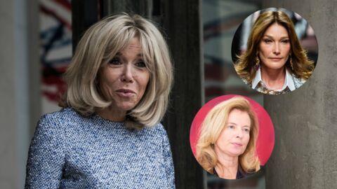 PHOTO Brigitte Macron et Carla Bruni: Valérie Trierweiler partage une image inédite de leur rencontre à l'Elysée