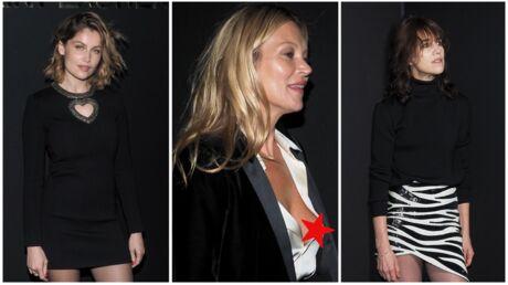 PHOTOS Kate Moss en montre trop, Charlotte Gainsbourg, Laetitia Casta et Lindsay Lohan sexy pour Saint Laurent