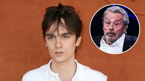 Alain-Fabien Delon: cette conversation très importante qu'il a eue avec son père avant ONPC