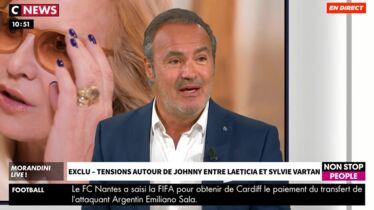 «Sylvie Vartan est très triste»