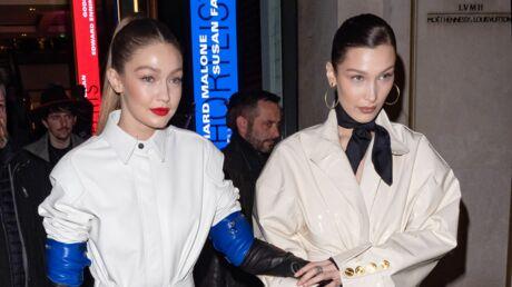 PHOTOS Gigi et Bella Hadid toujours aussi inséparables durant la Fashion Week parisienne