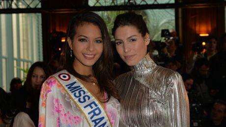 PHOTOS Vaimalama Chaves et Laury Thilleman, duo glamour à la Fashion Week