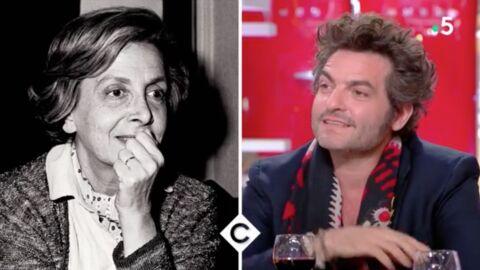 VIDEO C à vous: Matthieu Chedid très ému en revoyant des images de sa célèbre grand-mère