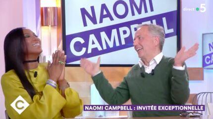 VIDEO Fabrice Luchini perd tous ses moyens face à Naomi Campbell et provoque un malaise dans C à vous