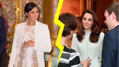Maquillage – Les différences entre Meghan Markle et Kate Middleton lors de l'hommage à Charles