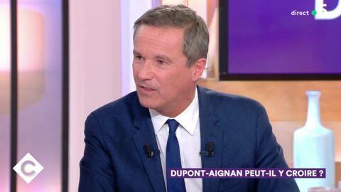 VIDEO Nicolas Dupont-Aignan insulte Patrick Cohen et se fait virer de C à vous