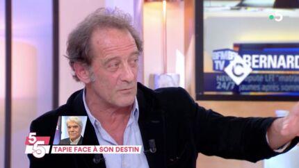 VIDEO Vincent Lindon intransigeant avec Bernard Tapie qui a quitté le plateau d'Europe 1