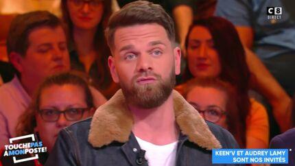 VIDEO Keen'V: après avoir insulté Alizée, il enfonce le clou dans Touche pas à mon poste