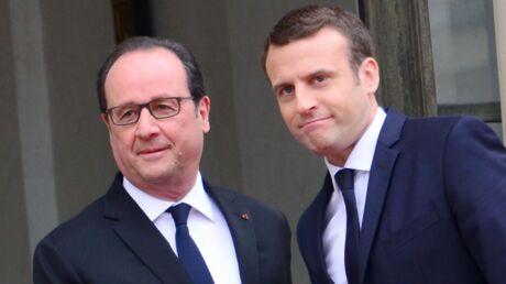 François Hollande: sa grosse pique à Emmanuel Macron le jour de la passation