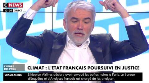 VIDEO Pascal Praud pète un plomb en pleine émission: il passe du rire aux cris en une minute