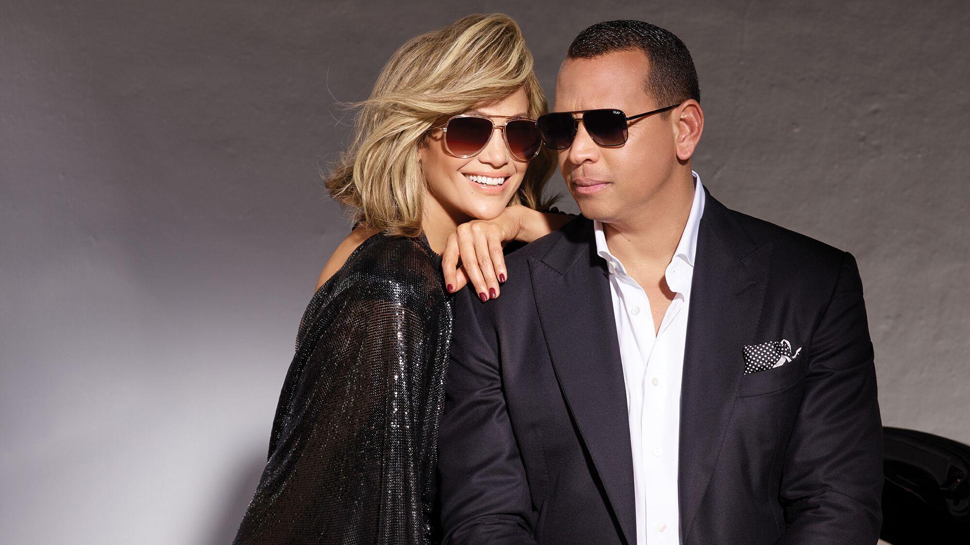 b87c0c5bf9b Quay Australia s associe à Jennifer Lopez et son fiancé pour une collection  de lunettes de soleil canon ! - Voici