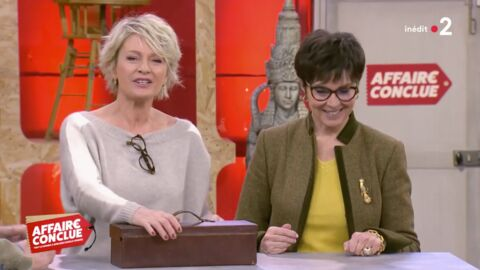 VIDEO Cette ancienne star de la télé a surpris Sophie Davant dans Affaire Conclue