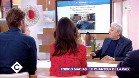 VIDEO C à vous: Enrico Macias qualifie «d'injustice totale» sa condamnation à rembourser 35 millions d'euros