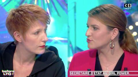 VIDEO Marlène Schiappa: sa grosse prise de bec avec Natacha Polony dans Les Terriens du dimanche
