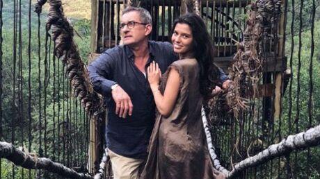 PHOTOS Christophe Dechavanne: sa fille, très sexy, l'a suivi en Afrique du Sud