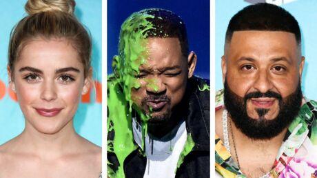 PHOTOS Kids' Choice Awards: découvrez les gagnants aspergés d'une substance verdâtre pendant la cérémonie