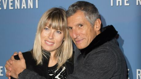 PHOTO Nagui son tendre baiser au stade de France avec sa femme Mélanie Page