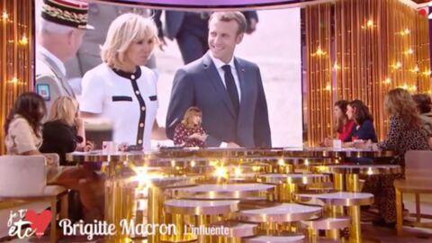 VIDEO Brigitte Macron: sa drôle d'habitude avec Emmanuel Macron à l'Elysée