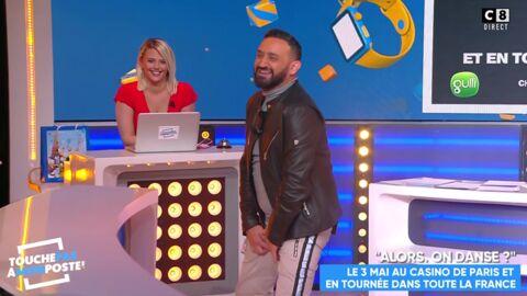 VIDEO Cyril Hanouna craque son pantalon en direct dans Touche pas à mon poste