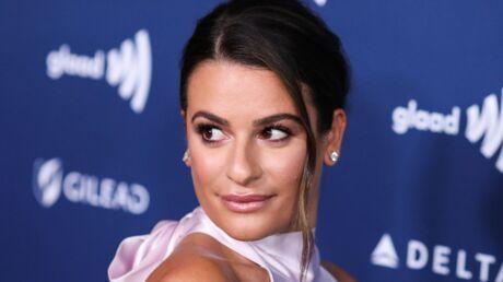 PHOTOS Lea Michele sans soutien-gorge: première sortie sexy pour la star de Glee depuis son mariage