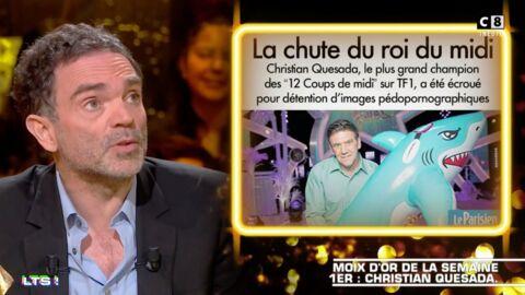 VIDEO Yann Moix: sa pique acerbe à Christian Quesada arrêté pour détention d'images pédopornographiques