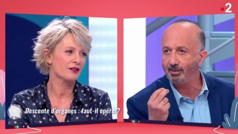 VIDEO Sophie Davant: le ton monte avec un de ses chroniqueurs dans C'est au programme